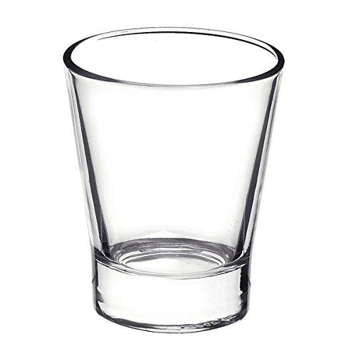Vasos de Café 6 Pcs 8,5 cl 3 oz para Bombon o Cortado (Caffeino) Expresso - Bormioli Rocco Professional - Caffenio Vaso Gobelet Becher - para Cafetera Nespresso Krups Delonghi Siemens