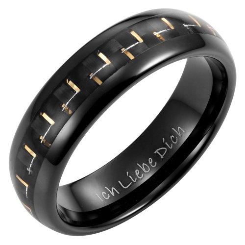 willis-judd-ganz-neue-herren-bandring-aus-wolfram-mit-goldfarbigen-carbonfaser-und-mit-ich-liebe-dic