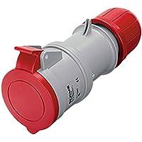 Scame optima - Prolongador ip44 3 polos+neutro+tierra 32a 346-415v tornillo