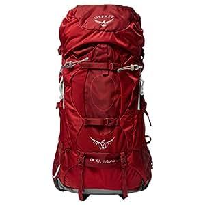 Osprey Ariel AG 65L Women's Rucksack (M), Red, M