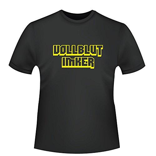 Vollblut Imker, Herren T-Shirt - Fairtrade - ID103805 Schwarz