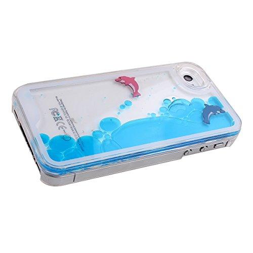 custodia iphone acqua pesci