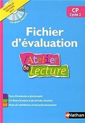 L'Atelier de lecture CP : Fichier d'évaluation (1Cédérom)
