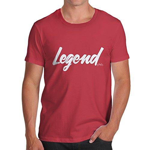 TWISTED ENVY Herren T-Shirt Rot