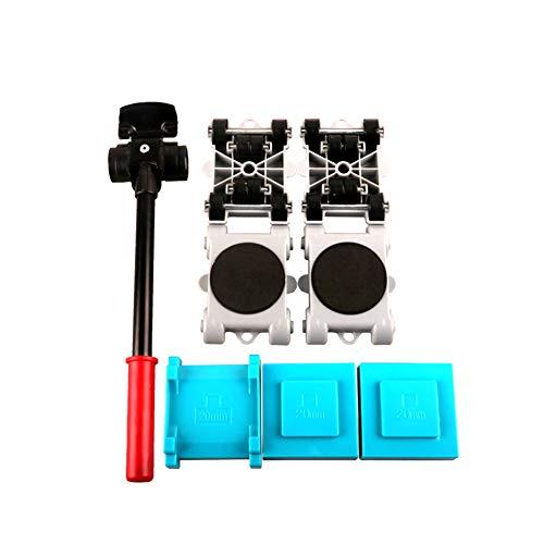 Möbel-beweglicher Rollen-Satz 8pcs, Möbel-Urheber-Werkzeug-beweglicher Rollen-Satz Hauptschieber 360 Grad-drehbarer Hauptmöbel-Heber-Urheber-Werkzeug-Satz bewegliche Schieber -