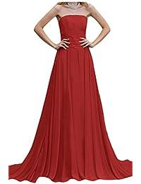 Por la noche vestidos de novia sin tirantes de la Toscana diseño de balón de la