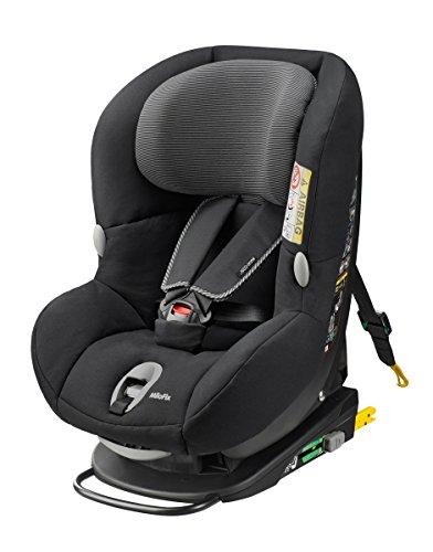 Maxi-Cosi MiloFix - Reboarder Kindersitz, Gruppe 0+ /1 (0-18 kg), Kinderautositz mit Isofix, black raven