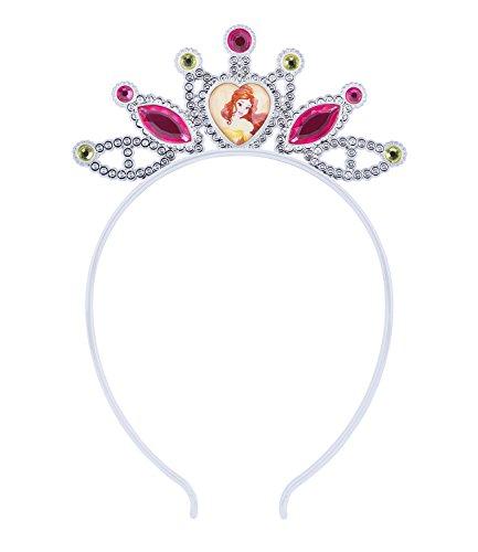 ne und das Biest Haarreif Haarkrone Disney Belle Kostüm Prinzessin Krone, Geburtstag, Karneval, Fasching (305-230) ()
