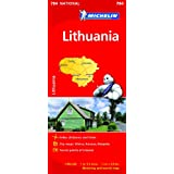 Lithuania NATIONAL Map (Michelin National Maps)