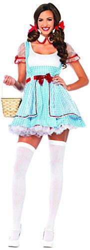 Leg Avenue 85229 - Oz Beauty Kostüm Set, 2-teilig, Größe M/L, (Pailletten Kind Kostüme Dorothy)