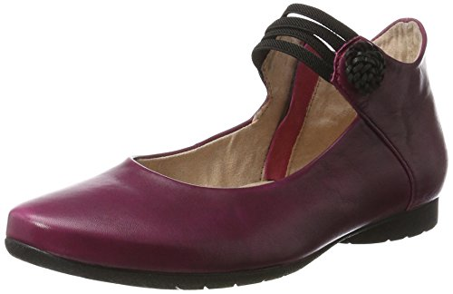 piazza-991043-ballerines-femme-rouge-rot-rot-38-eu