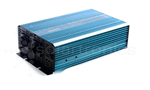 Spannungswandler Inverter 24V 1500/3000 Watt reiner SINUS incl. 3 m Fernbedienung