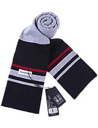 Aooaz Foulard pour homme Femme Foulard d hiver en laine jacquard Foulard  chaud écharpes homme 248922b04b0