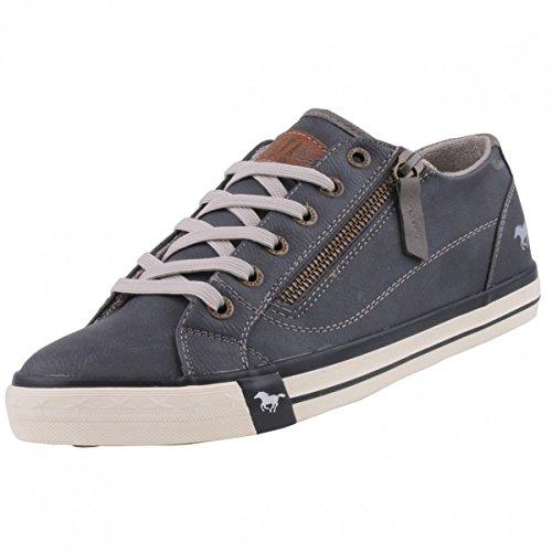 Mustang 1208302, Sneakers Basses femme Blau (800 dunkelblau)