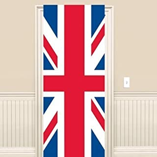 Olympics/Jubilee Decorations - Great Britain Union Jack Plastic Flag Door Sign