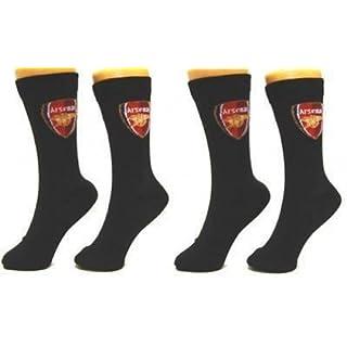 Arsenal F.C. Socks 2 Pack Mens 6-11