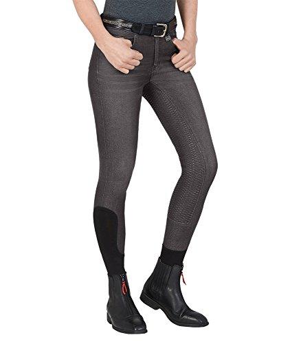 WALDHAUSEN ELT Jeans-Reithose Hope, silbergrau, 176