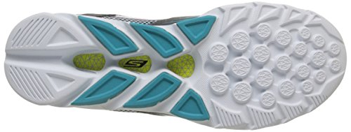 Skechers Go Run Vortex, Running Entrainement femme Bleu (Charcoal/Bleu)