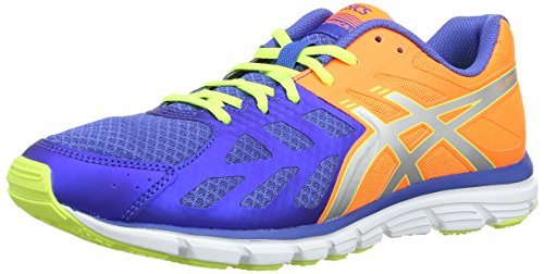 Asics Gel-Zaraca 3, Scarpe sportive, Uomo Blue/Silver/Flash Yellow 4293