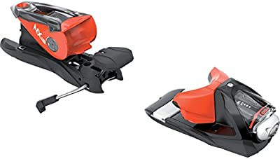 Look–Fijaciones de esquí NX 12Dual WTR B90Black/Red–Unisex–Talla única–Negro