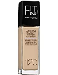 Maybelline New York Fit Me Make-Up Classic 120, 1er Pack (1 x 30 ml)
