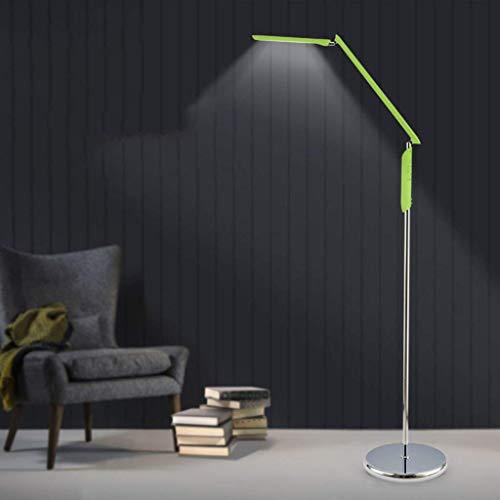 JBP Max Stehlampen Wohnzimmerlampe LED-Bodenlampe Vertikale Studie Schreibtisch Lampe DREI Farbtemperatur-9,Green -