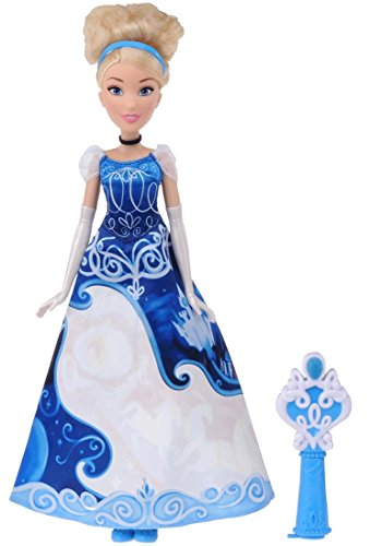 Change dress Cinderella in the Disney Princess Royal Friends Doll your water