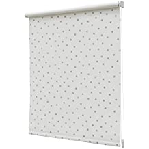 Estor Enrollable Opaco Regular N.105 150x190cm Blanco/Gris