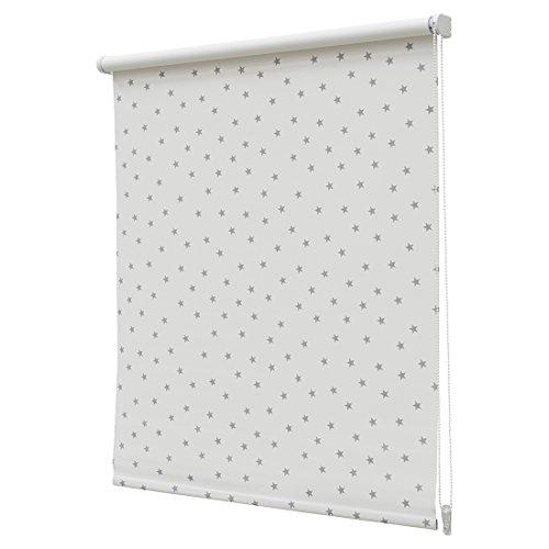 Estor Enrollable Opaco Regular N.105 150x190cm Blanco/Gris