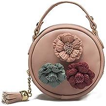 f490fe716ded0 TIFIY Damen Blumen Rose Stickerei Crossbody Kette Schultertaschen Abdeckung  Kuriertaschen