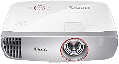 BenQ W1210ST Proyector de vídeo Gaming 1080P Full HD, 2 altavoces de 10W,  Low Inut Lag para mayor fluidez en los juegos, DLP, 1920x1080, 2200 Lumens, alto contraste 15000:1, Short Throw, 3D, HDMI.