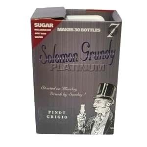 Solomon Grundy PLATINUM 7 Day Wine Kit 30 Bottle - Pinot Grigio