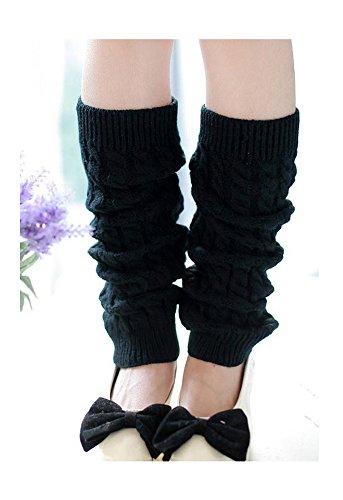 add-health-damen-stulpen-herbst-und-winter-beinlinge-boot-abdeckung-socken-black-018