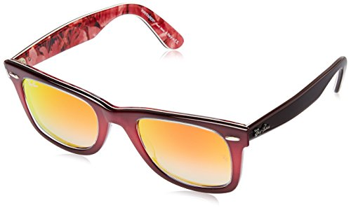 Ray-Ban Gradient Square Unisex Sunglasses - (0RB214012004W50|50|Mirror Gradient Red) image