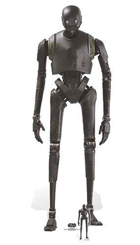 k-2so Sicherheit Droid Karton Ausschnitt, Mehrfarbig (Star Wars Karton Ausschnitte)