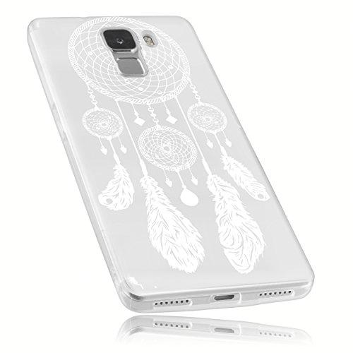 mumbi Schutzhülle Huawei Honor 7 Hülle im Traumfänger Design