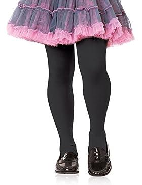 Leg Avenue Mädchen Strumpfhose schwarz blickdicht Größe L ca. 122 bis 140