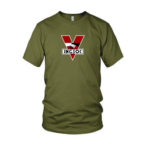 INGSOC - Herren T-Shirt, Größe: M, Farbe: ()