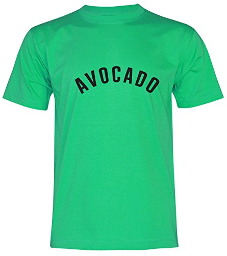 PALLAS Unisex's Avocado Classic T-Shirt Green