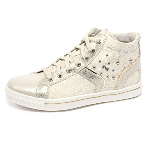 B1900 sneaker bimba NERO GIARDINI EVEN IVORY avorio shoe kid [35]