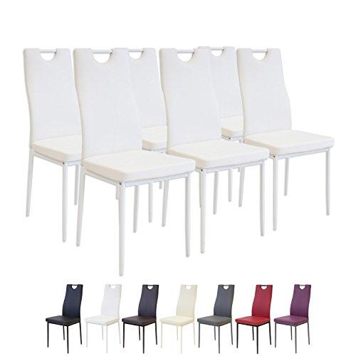 Albatros 2915 SALERNO Set de 6 sillas de comedor,...