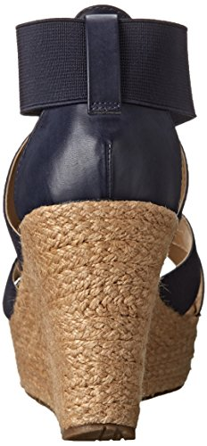 Kenneth Cole Reaction Sole Lay Toile Talons Compensés Blueberry