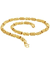 Voylla Gold Plated Chain for Men (8907617435084)