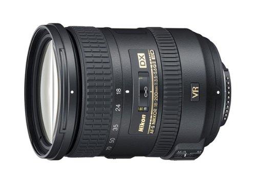 Nikon AF-S DX 18-200mm F3.5-5.6 G ED VR II - Objetivo con montura para Montura F de Nikon (distancia focal 27-300mm , apertura f/3.5, estabilizador de imagen)