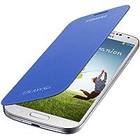 Samsung Original EF-FI950BCEGWW Flip Cover (kompatibel mit Galaxy S4) in hellblau