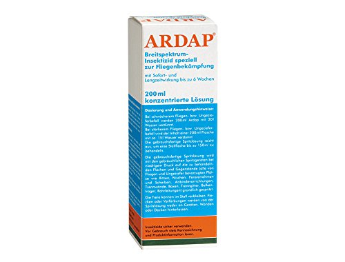 Artikelbild: Quiko 077863 Ardap Ungeziefer Konzentrat 200 ml