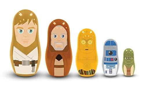 Unbekannt PPW 5524721 Spielzeug, Mehrfarbig, Einheitsgröße (Star Wars Miniatures Jedi)