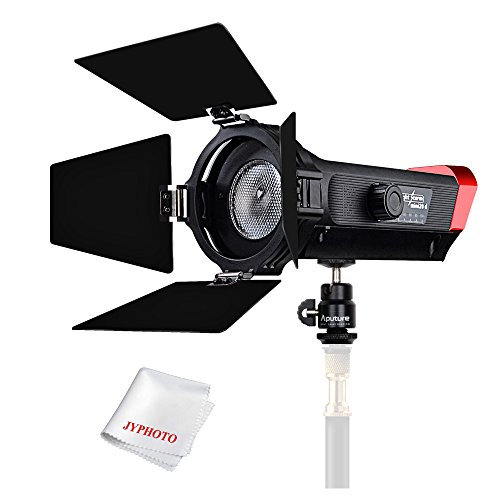 Aputure LS-mini20d TLCI CRI 96+ 7300K LED Video Light Daylight with Brightness/Beam Angle Adjustment