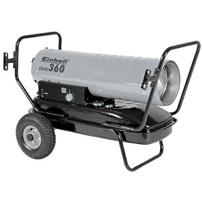Einhell Diesel Heizgebläse DHG 360 (Heizleistung bis 36 kW, 900m³/h Luftdurchsatz, 38 l Tank, bis 300 qm Raumgröße, elektronische Zündung, Thermostat)