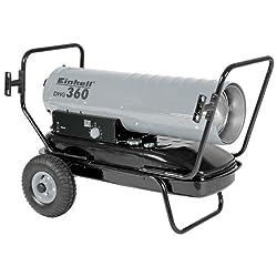 Einhell Diesel-Heißluftgenerator DHG 360 (230V, Heizleistung 36 kW, 38 l Tank, elektrische Zündung, Thermostat, Tankanzeige, Überhitzungsschutz)